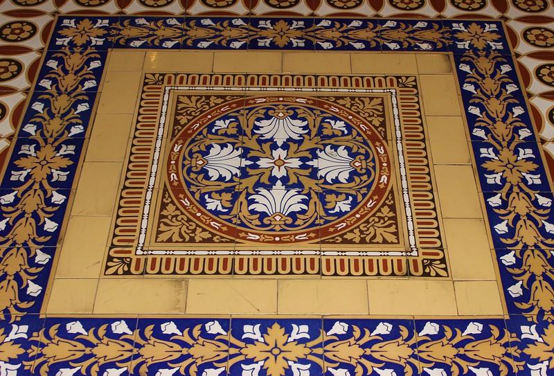 United States Senate Floor Tile Design
