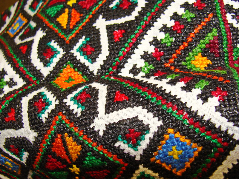 Ukranian embroidery (2)