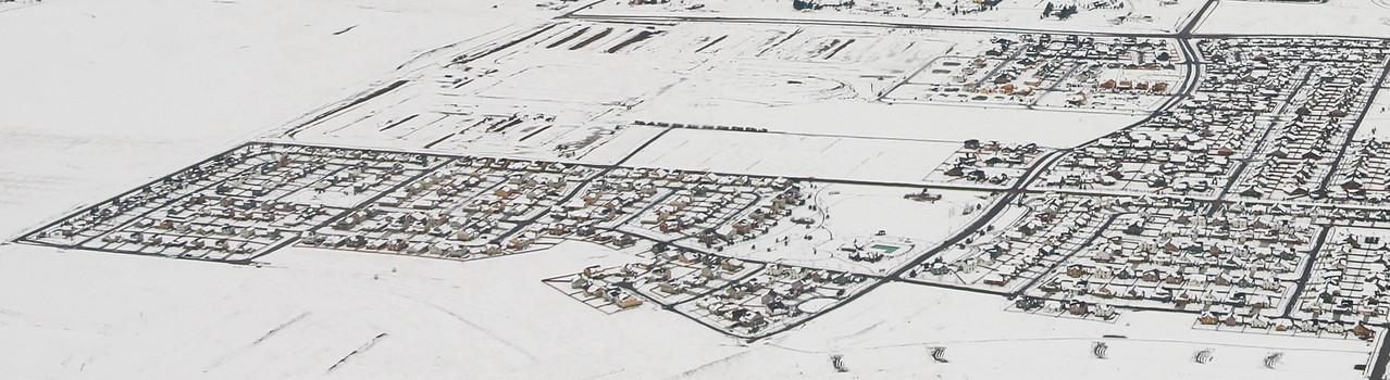 Denver, Colorado in Winter