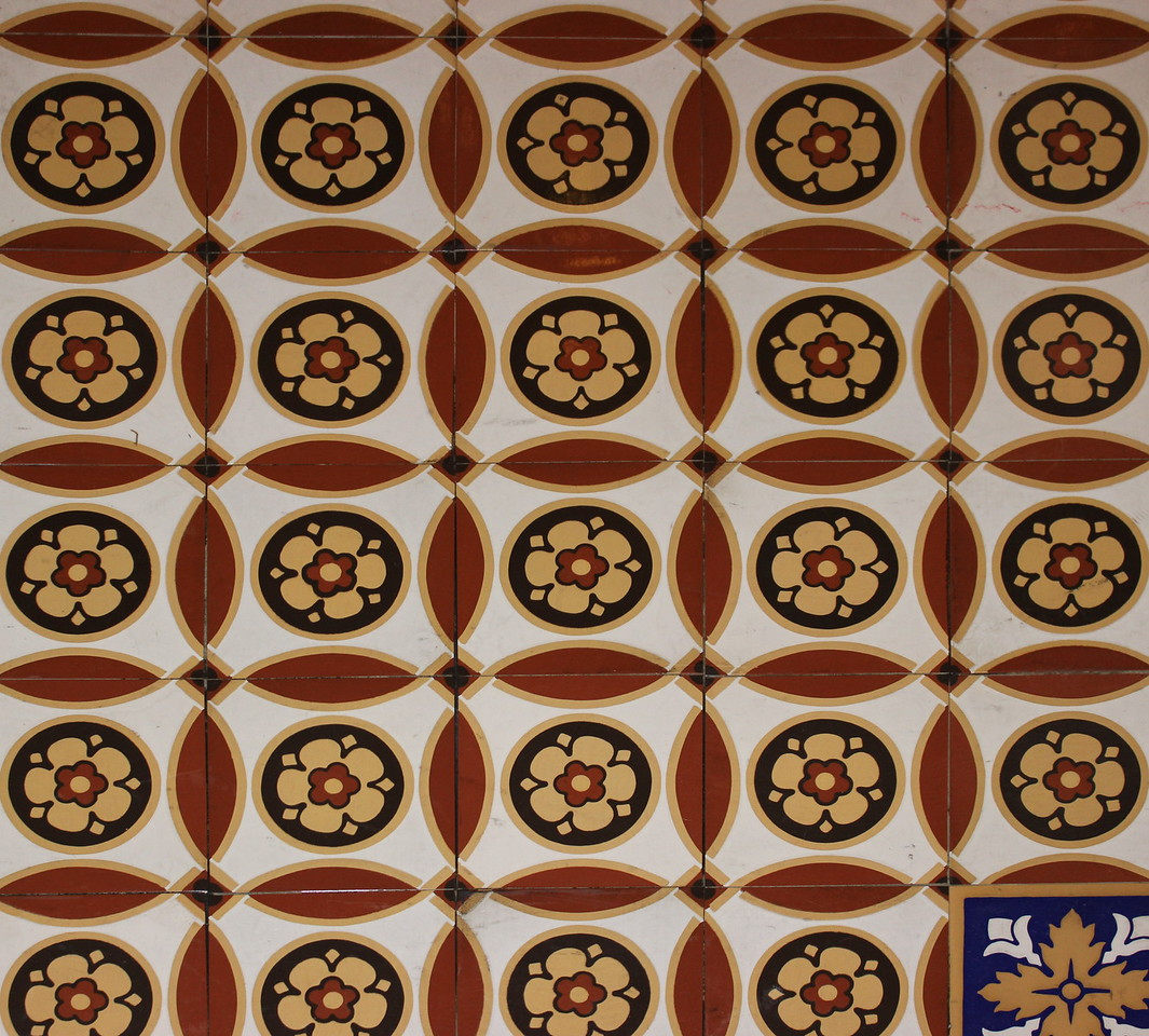 US Senate Hallway Floor Tiles