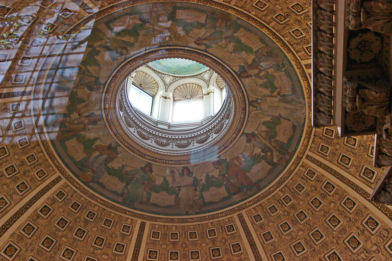 Rotunda Ceiling and Skylight
