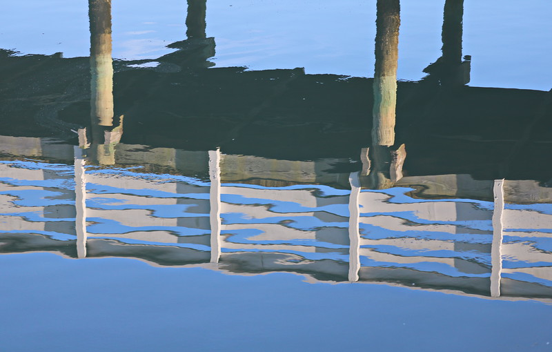 Pier Reflection