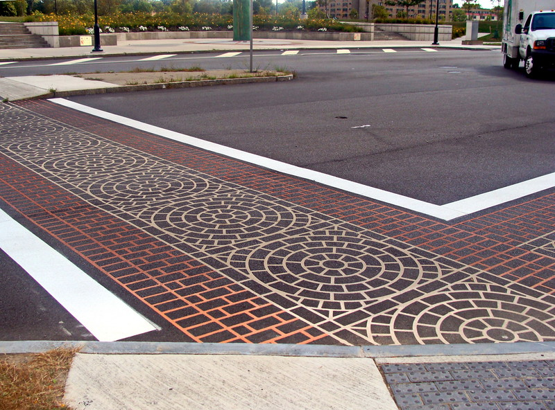 Pedestrian Cross-Walk