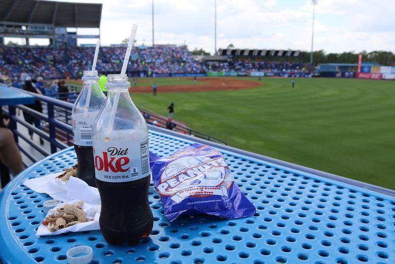 Snacks at the Ballpark