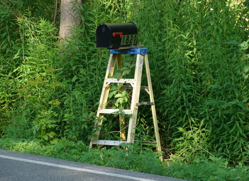 Mail Box Stand