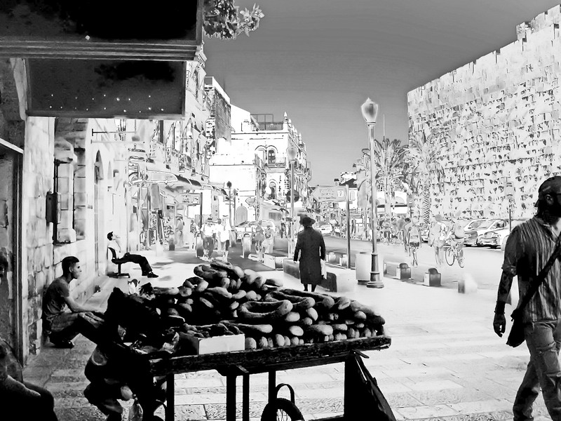 Old City near the Jaffa Gate
