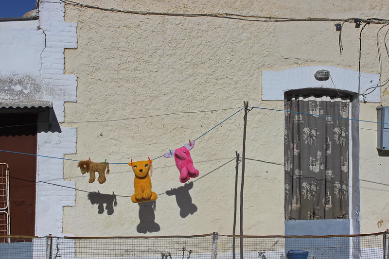 Toys on the Clothesline