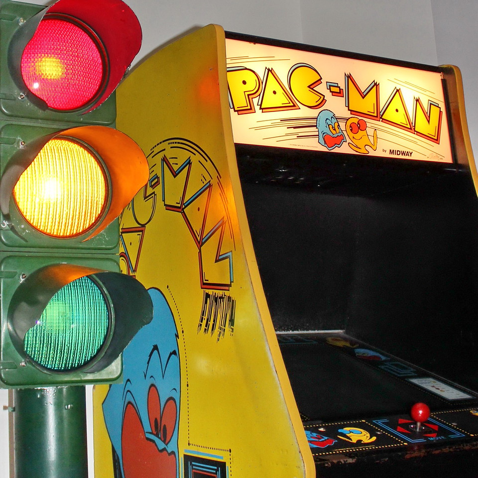 Traffic Signal and Pac-Man