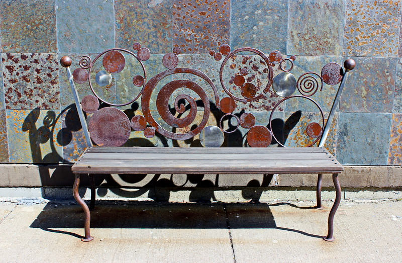 Artwalk Bench