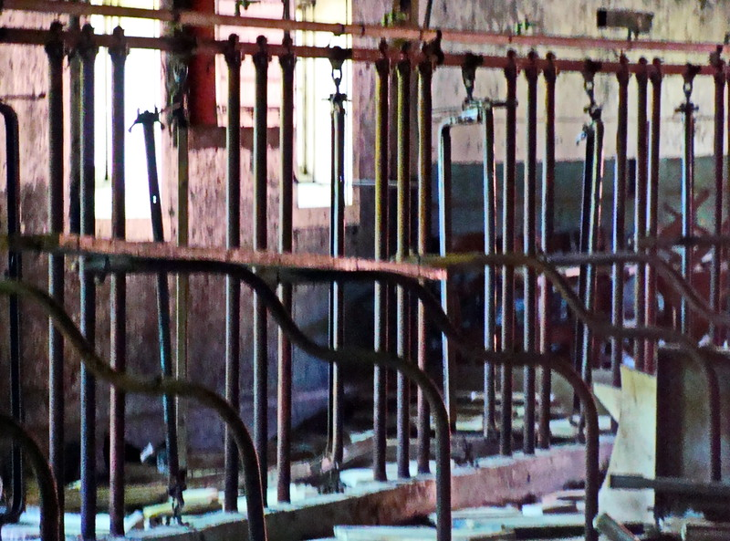 Old Milking Barn Pipes