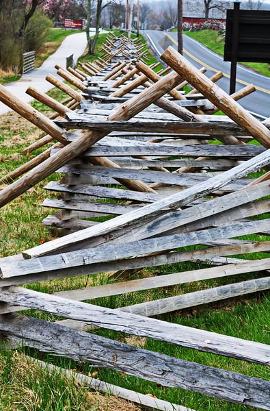 Civil War Fence