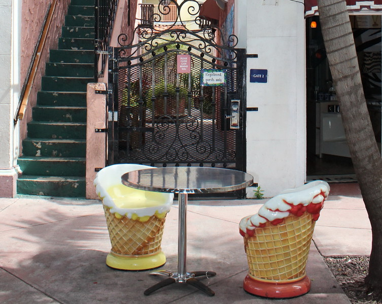Ice Cream Cone Chairs