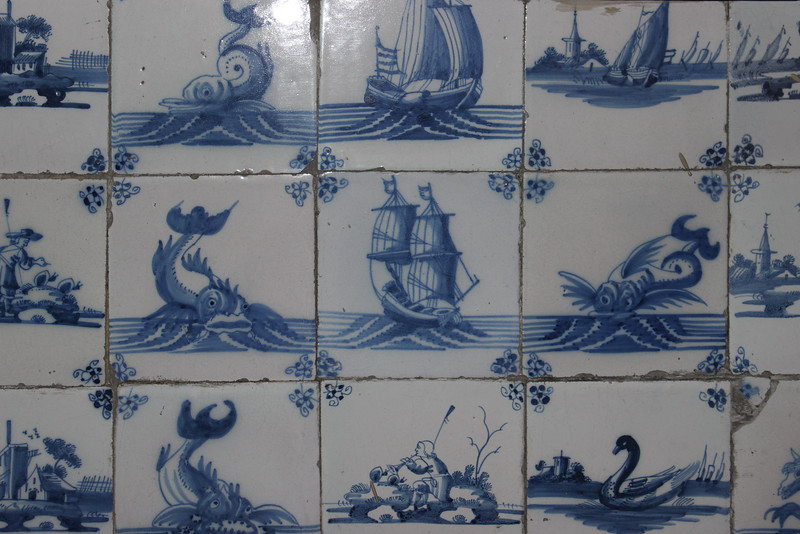 Dutch Fireplace Tiles