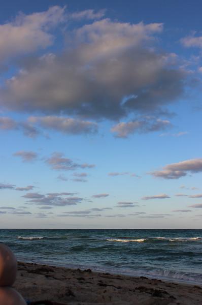 Knees on the 48th Street Beach