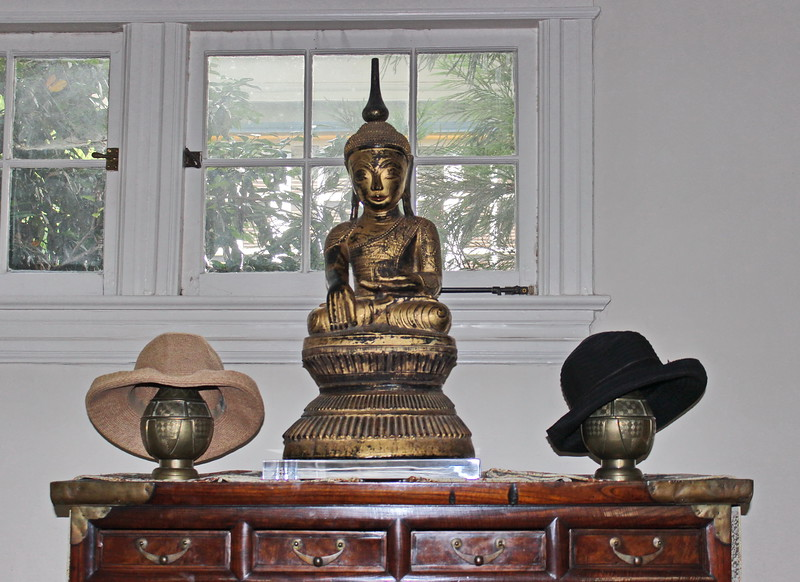 Buddha and Hats