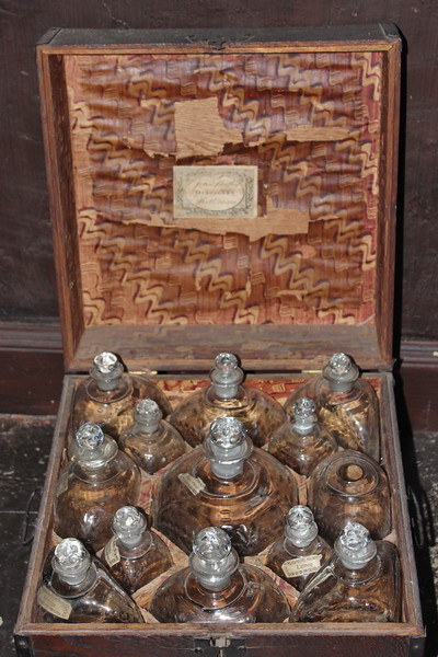 Antique Port Wine Case