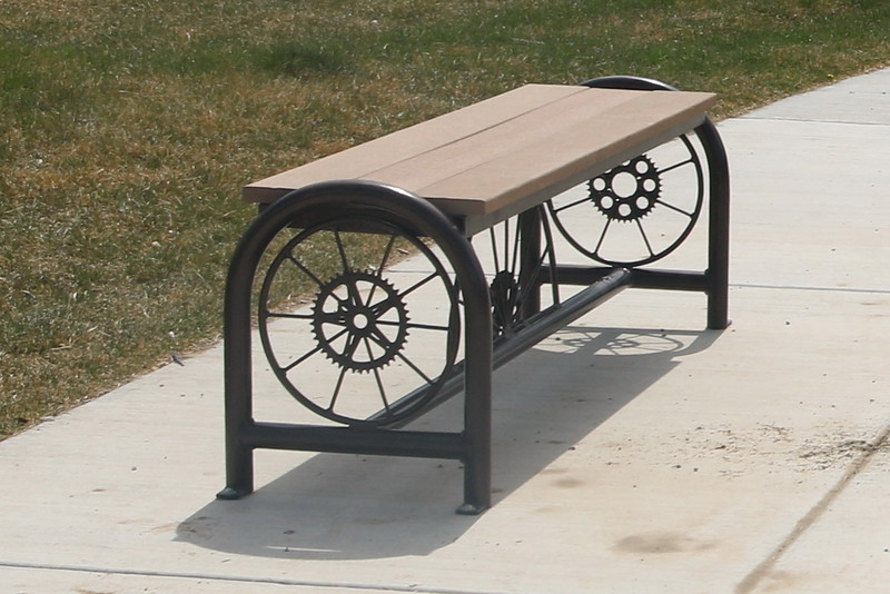 Spokes Bicycle Bench, Fruita Bicycle Park, Fruita, Colorado