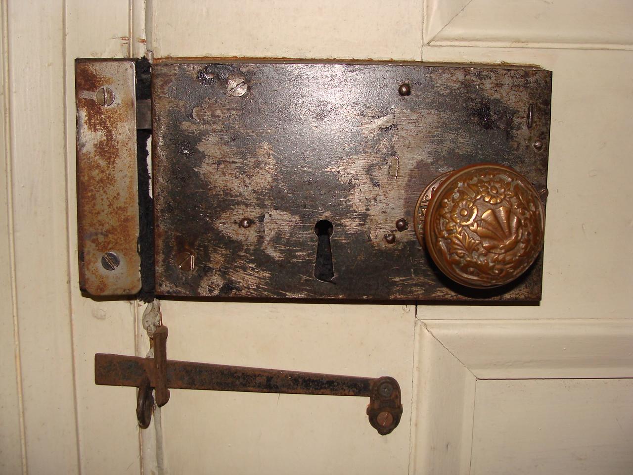 Antique Door Handle and Latch