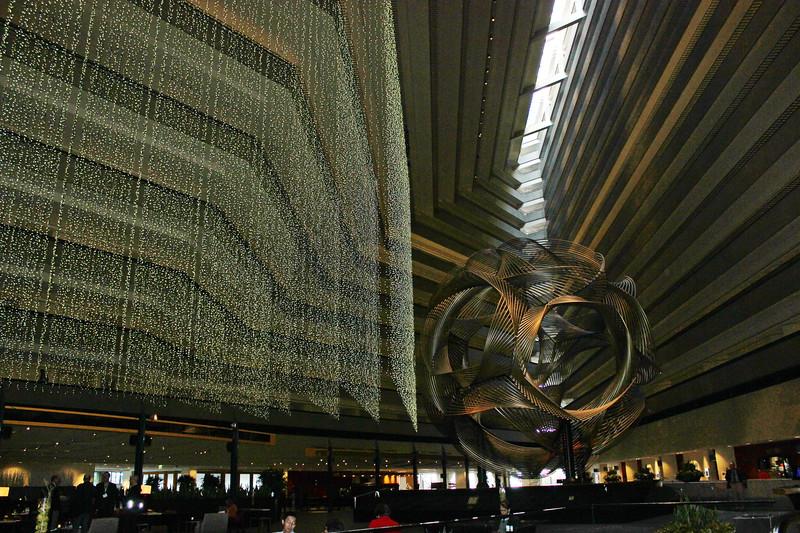 Sculpture in Atrium