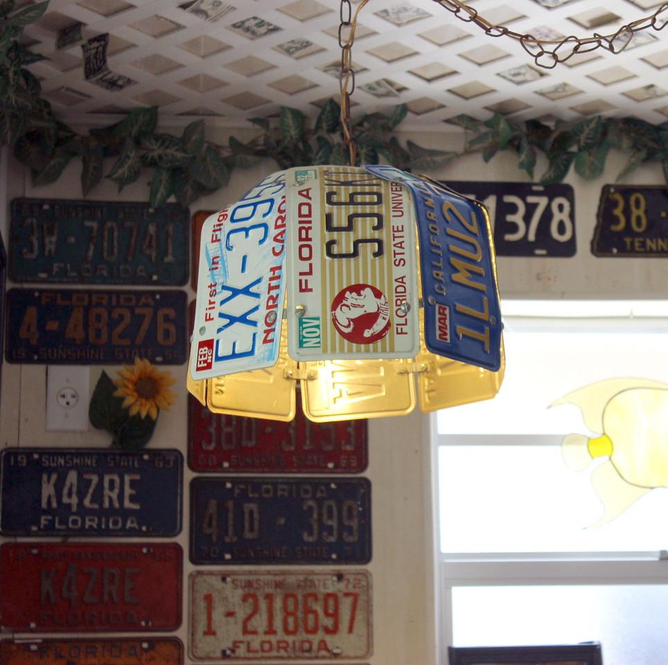License Plate Light Fixture