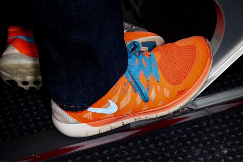 Flourescent Shoes