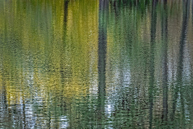 waterscape lake reflection