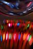 Christmas Lights (photographed thru the stem of a glass)
