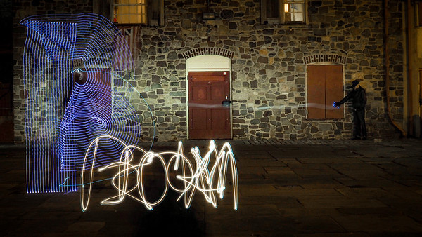 Light Painting in Park Slope - Feb 2017