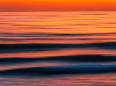 County Line Lineup: Malibu Beach Abstract Ocean Art    Elliot McGucken Fuji GFX100 Fine Art Landscape Nature Photography