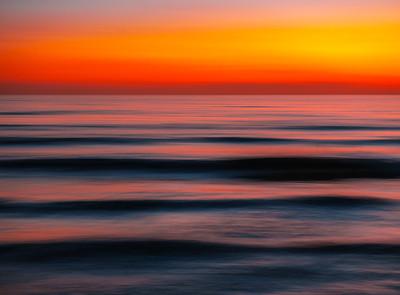 Dusk Patrol: Malibu Beach Abstract Ocean Art    Elliot McGucken Fuji GFX100 Fine Art Landscape Nature Photography