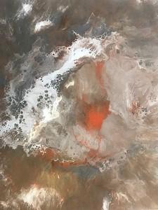 """Encounter"" acrylic and resin on canvas 24""x30"""