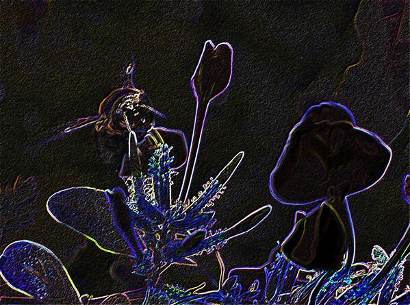 Neon Bumble Bee