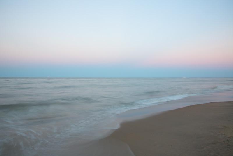 Waterside at dusk