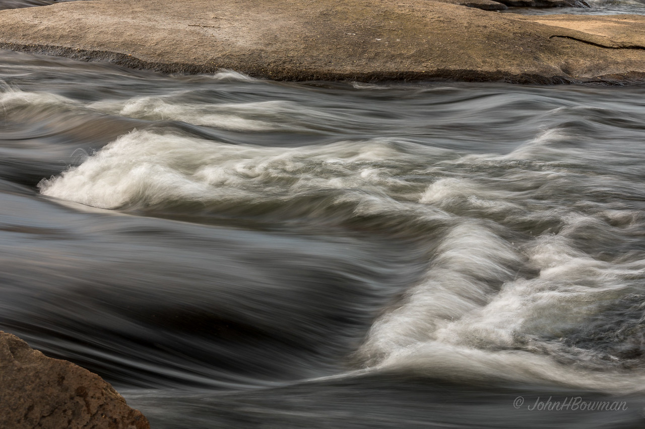 James River, Pony Pasture Rapids - isolation (1/5 sec)
