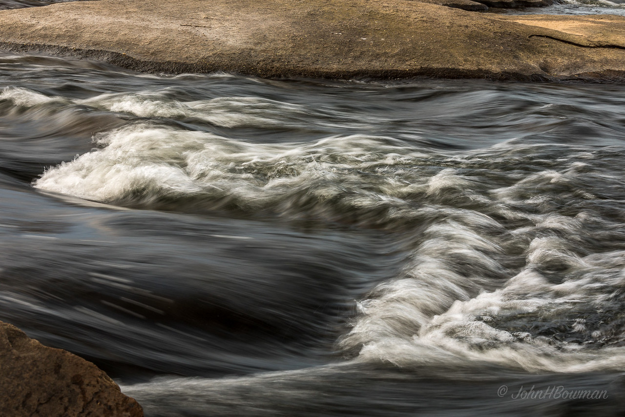 James River, Pony Pasture Rapids - isolation (1/13 sec)