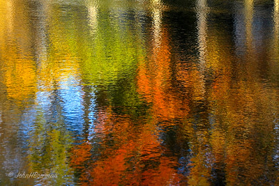 Fall Reflections - Surreywood Lake