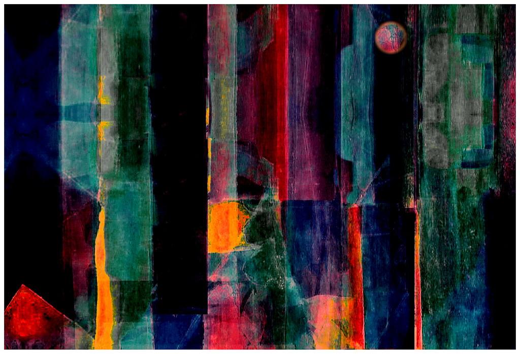 Moonrise Over the Hudson River