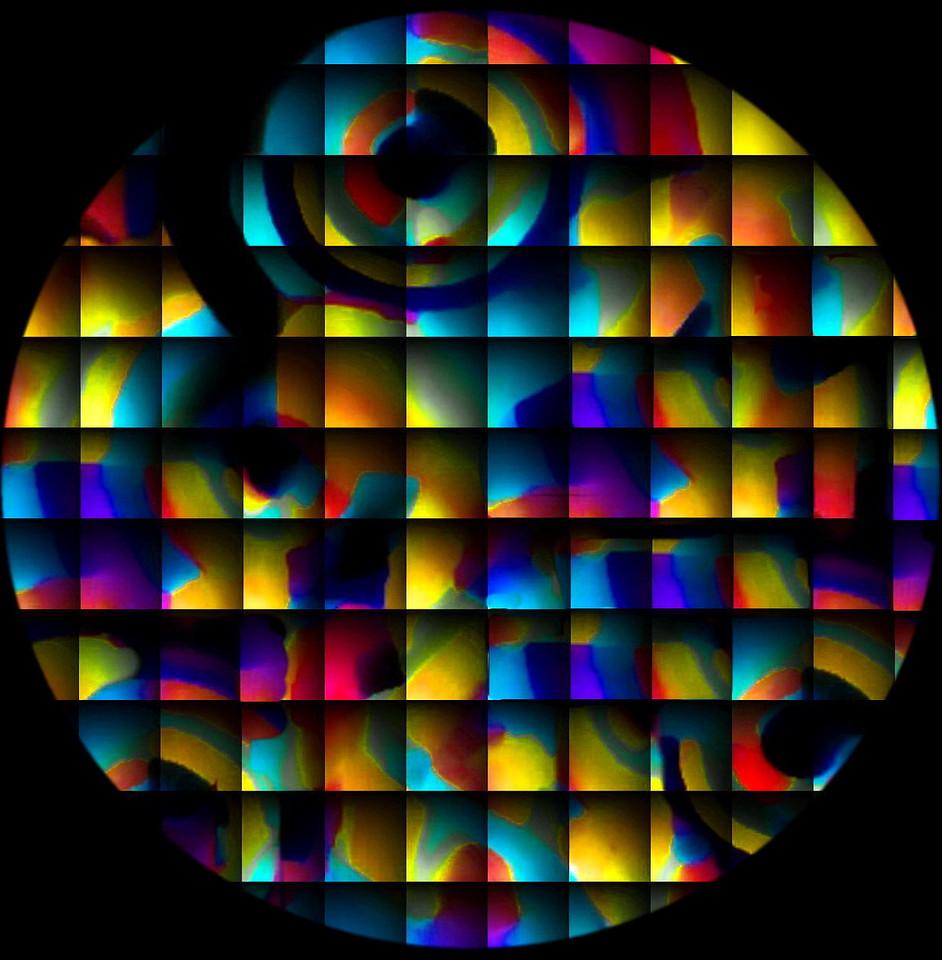 Orphic Circles Tondo