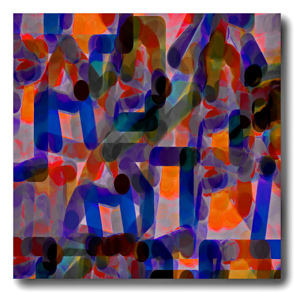 Abstract and Semi Abstract Artworks
