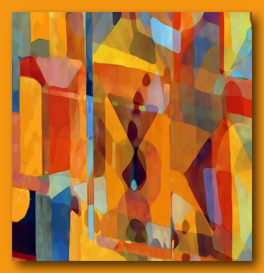 Temple Garden Morocco #3 (Homage to Klee)