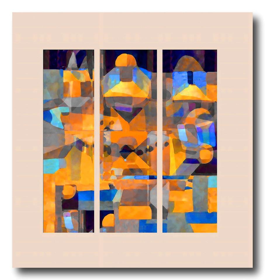 Temple Garden (Homage to Paul Klee)