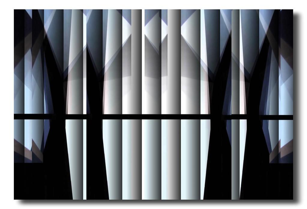 Brooklyn Bridge - Homage to Lionel Feininger Series