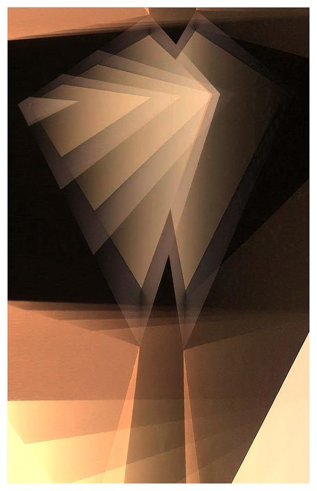 Chrysler Building (Night) - Homage to Lionel Feininger Series