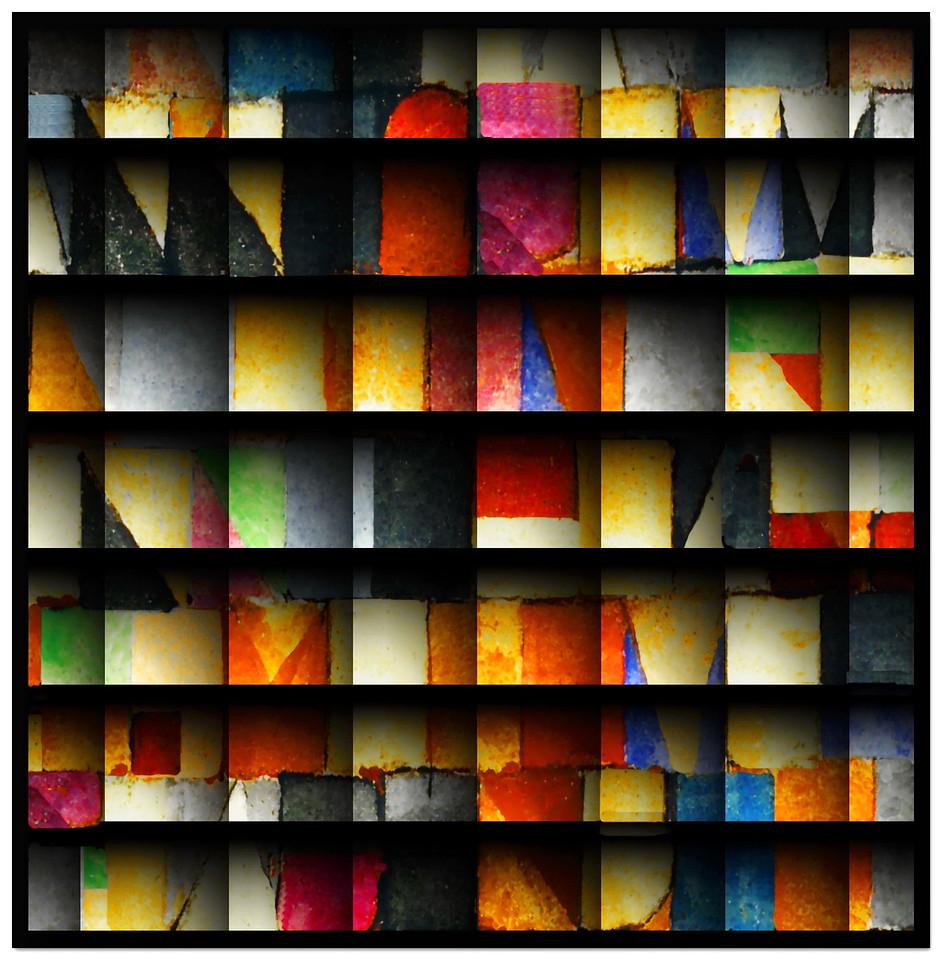 Colour Wall #8
