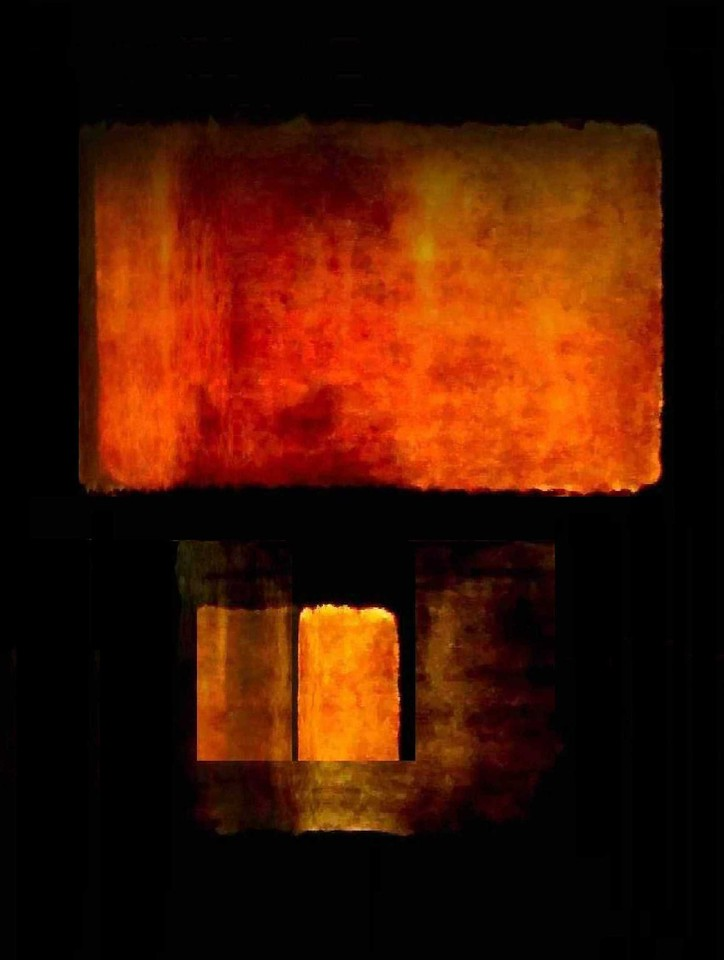 Study in Orange #1 (Homage to Rothko)