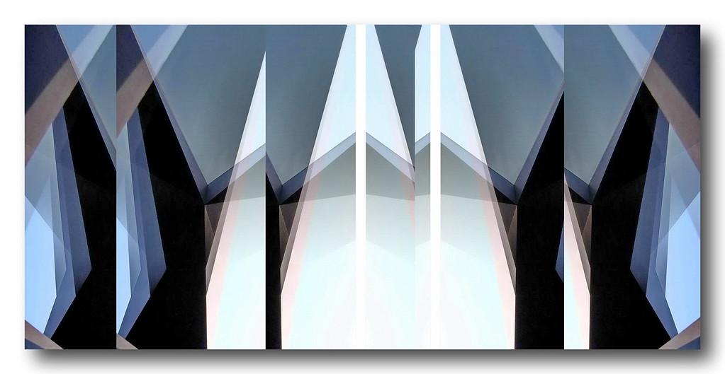Brooklyn Bridge II - Homage to Lionel Feininger Series