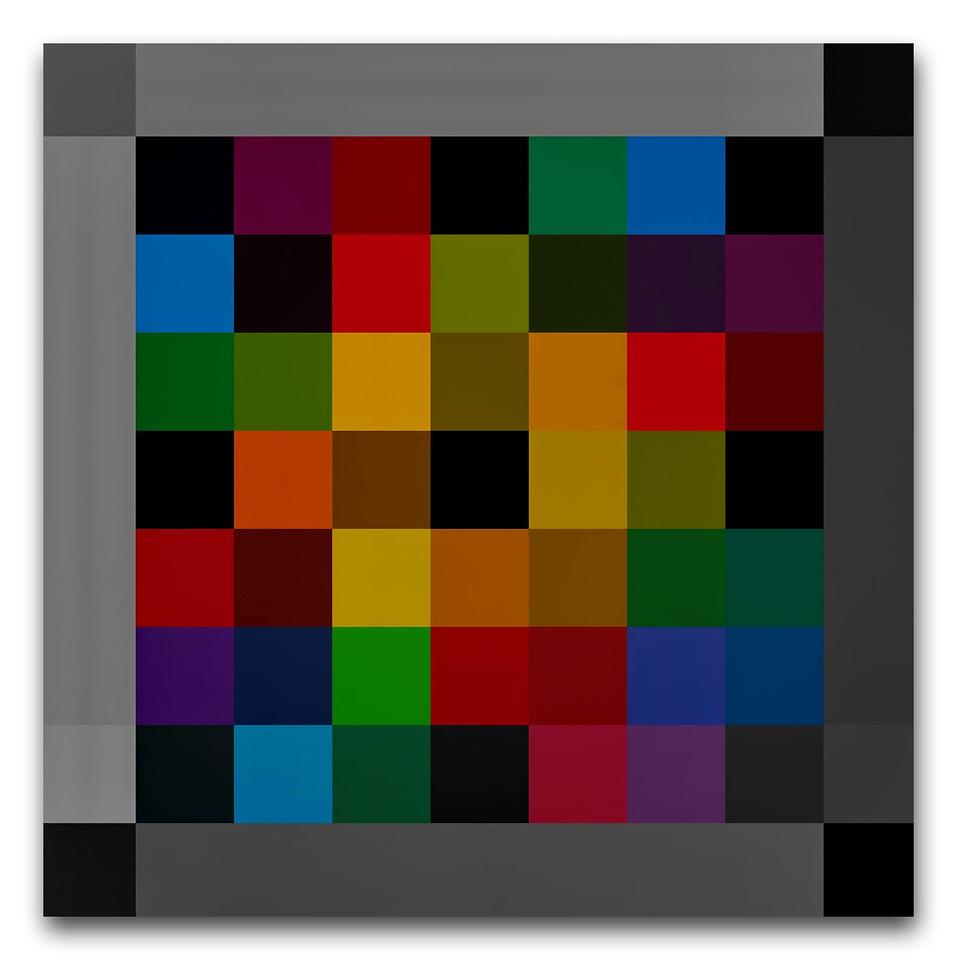 Linear Colour Composition #8