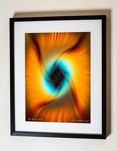 The Black Hole Sig Framed