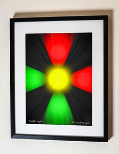 Traffic Light 2 Sig Framed