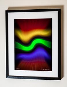 5 Stripes Framed(C) Bill Hiskett